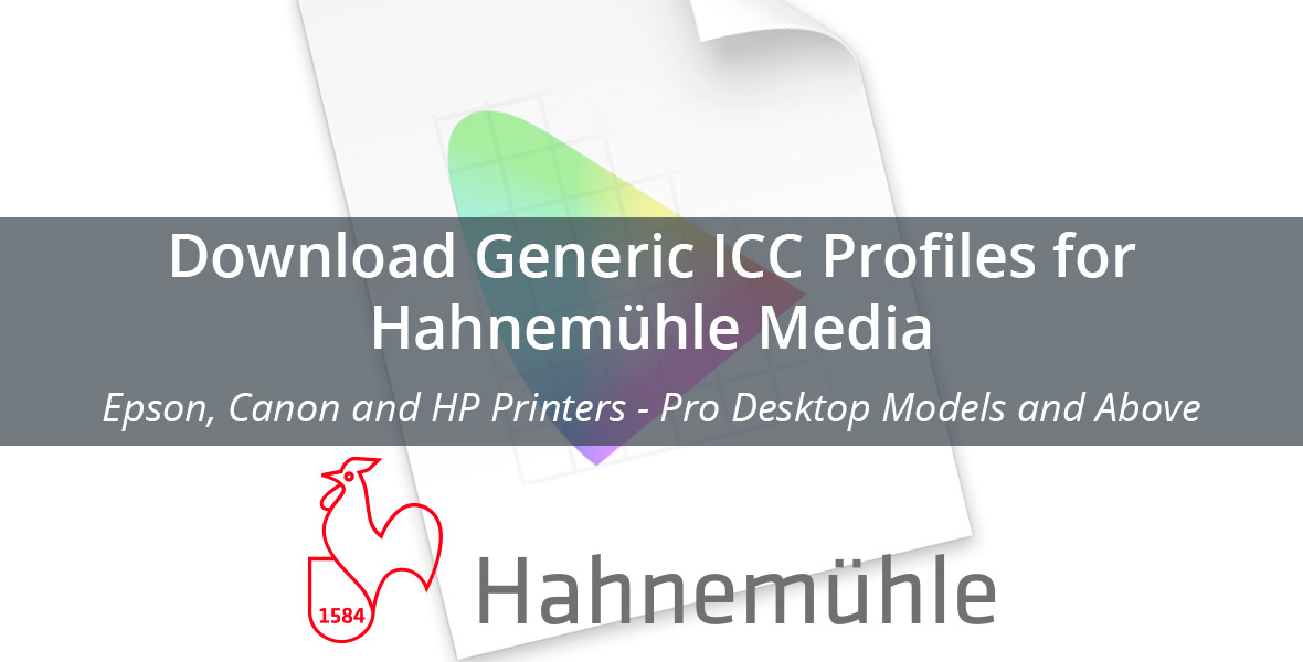 Fine Art Foto - Download Hahnemühle ICC Profiles