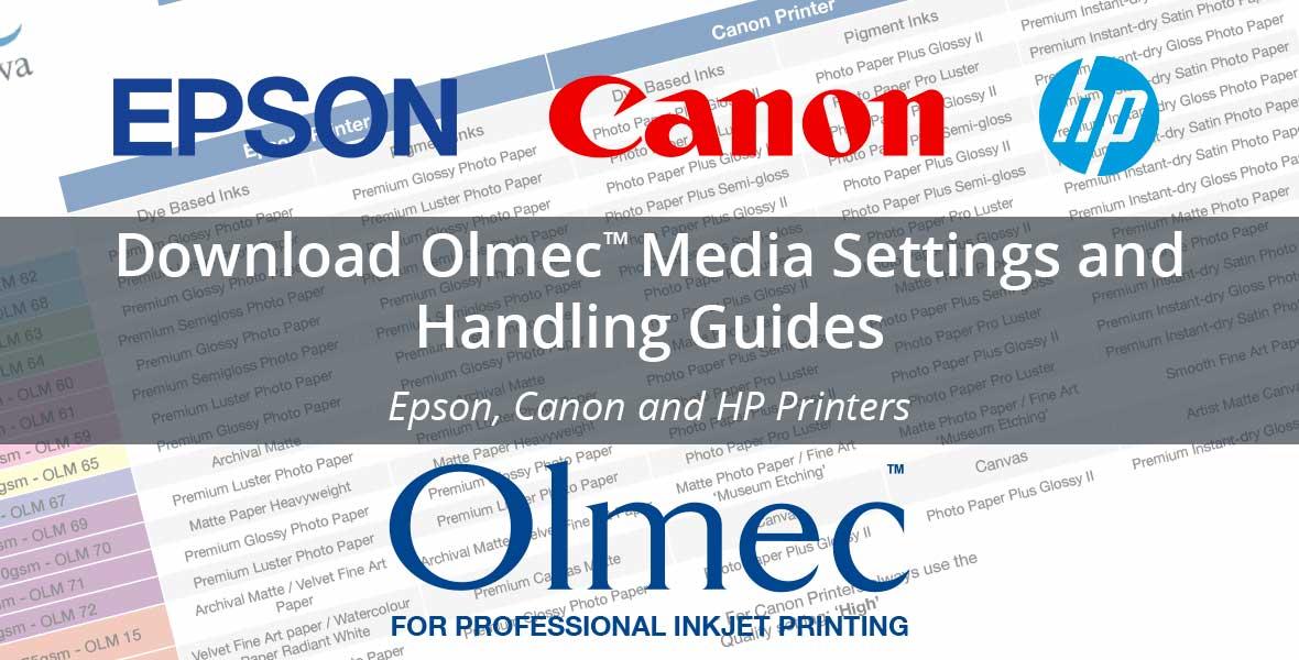 Download Olmec Paper Handling Media Settings Guides