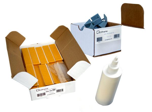 GOframe Hex Frame Bundle Deal: Stretcher Bars, Corner Kit and Glue