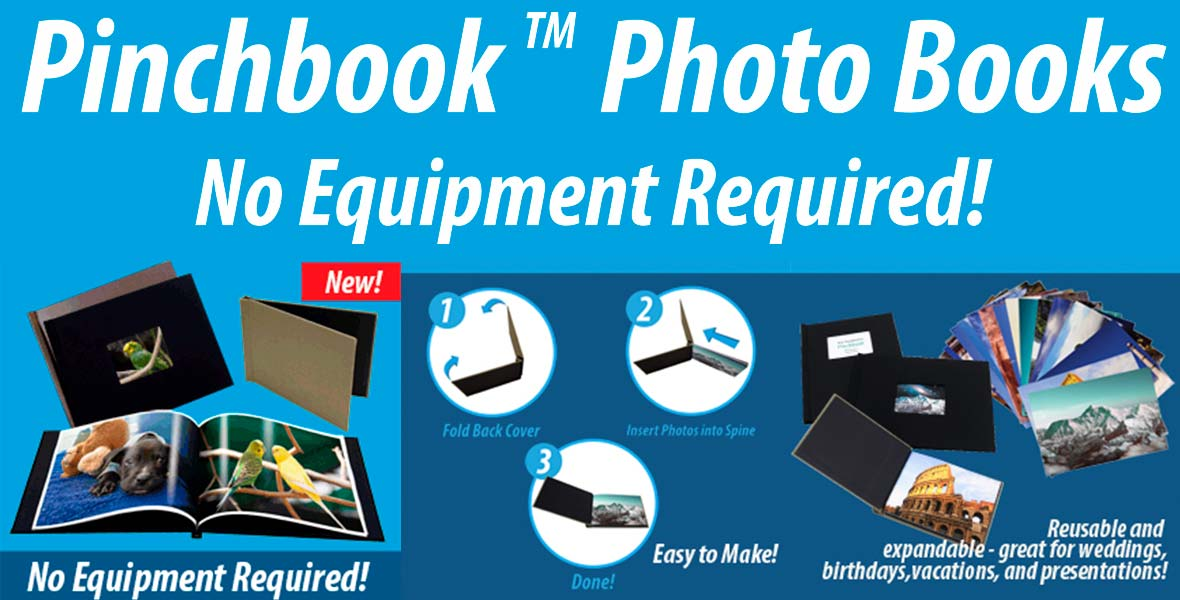 New Pinchbook Photo Books Now Available from Fine Art Foto