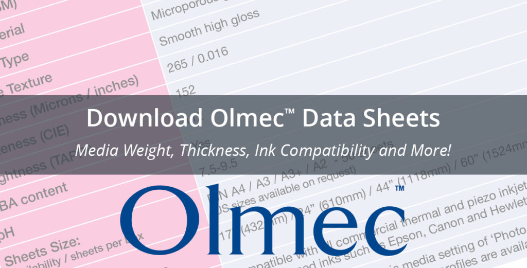 Download Olmec Data Sheets